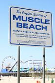 Signo de Muscle Beach