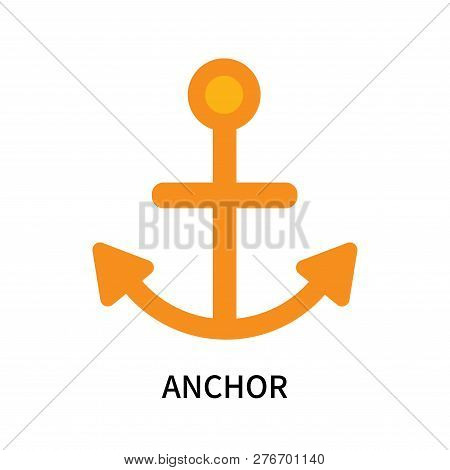 Anchor Icon Isolated On White