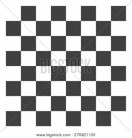 Chess Board Vector Icon Symbol