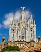 España Barcelona Templo De Sagrat Cor Tibidabo