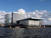 stock photo of ijs  - Muziekgebouw Het IJ - JPG