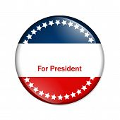 For President Button
