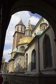 Temple In Wawel Castle. Krakow. Poland. Medieval History Memorial