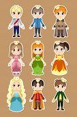 Príncipe y princesa caracteres