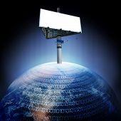 Digital Earth And Billboard