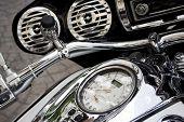 Medidor de velocidad de motos