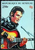 Presley - Senegal Stamp#6