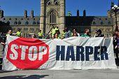 Occupy protest anniversary in Ottawa