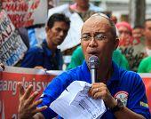 Demonstrators anti-government