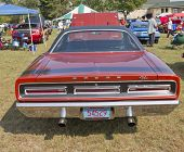 1969 Dodge Coronet Rt Rear View
