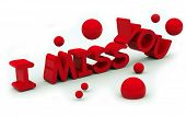 I Miss You Text