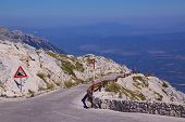 Mountain Road In Croatia