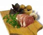 Schweinefleisch steaks