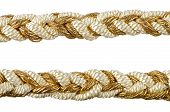 Golden Rope Curtain Tassels