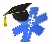 Medical Education Symbol Illustration