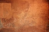 Rough Textured Brown Cement Wall