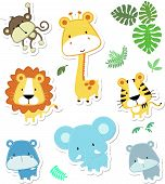 Animales de Safari lindo