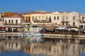 Rethymnon traditional city at Crete
