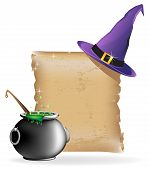 Magic Hat And Boiling Cauldron