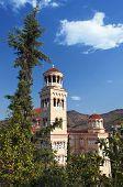 Aghios Nektarios church at Aegina island in Greece