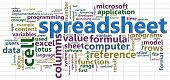 spreadsheet wordtags