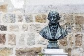 Bust Of Doyen Bridel In Montreux