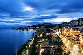 Night View Of Le Montreux Palace Hotel & 2M2C