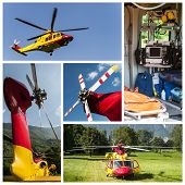 Emergency Rescue Helicopter