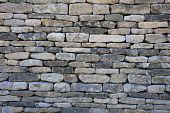 A background texture of a typically English dry-stone wall.