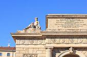 Garibaldi Gate In Milan, Italy