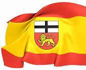 stock photo of bonnes  - Flag of Bonn Germany - JPG