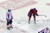 Alexander Ovechkin And Alex Kovalev