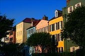 Charleston South Carolina  Rainbow Row