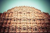 Hawa Mahal, The Palace Of Winds, Jaipur, Rajasthan, India