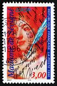 Postage Stamp France 1996 Marie De Rabutin-chantal, Marquise