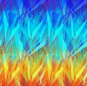 abstract technology vector seamless background.