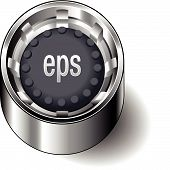 Rubber-button-round-document-file-type-eps
