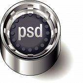 Rubber-button-round-document-file-type-psd