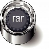 Rubber-button-round-document-file-type-rar