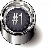 Rubber button round ecom number one