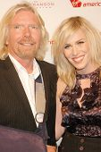 Richard Branson and Natasha Bedingfield  at the Rock The Kasbah Gala to benefit Virgin Unite and the Eve Branson Foundation. Vibiana, Los Angeles, CA. 10-26-09