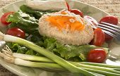 Traditional Jewish Passover Dish Gefilte Fish
