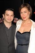 Samm Levine and Amber Melthi at the AFI Fest Gala Screening of