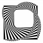 Modern Black And White Background