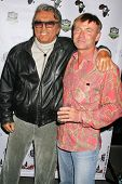 Robert Evans and Jim Bendis at the World Cup Showdown Fundraiser, El Guapo Cantina, Los Angeles, CA.