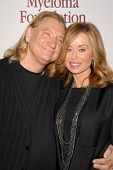 Joe Walsh and wife Marjorie Bach at the International Myeloma Foundation's 3rd Annual Comedy Celebra