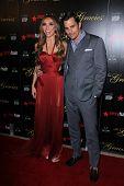 Giuliana Rancic, Bill Rancic at the 2012 Gracie Awards Gala, Beverly Hilton Hotel, Beverly Hills, CA 05-22-12
