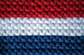 Knitted Flag Of Netherlands (holland)