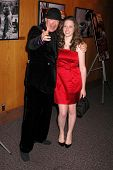 Henry Jaglom and Sabrina Jaglom  at the Los Angeles Premiere of 'Irene In Time'. Directors Guild of America, Los Angeles, CA. 06-11-09