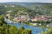 Skradin - Small City On Adriatic Coast In Croatia, At The Entrance In Krka National Park